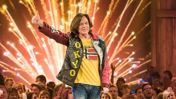 Jürgen Drews auf einer Bühne