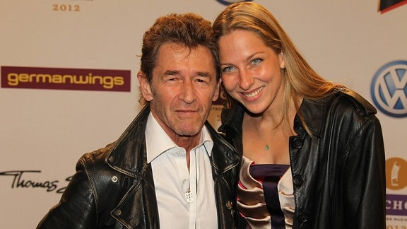 Peter Maffay mit Ehefrau Tanja Spengler, 2012