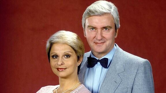 Dagmar Frederic mit Peter Wieland