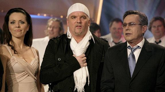 Sängerin Kate Hall, Sänger DJ Ötzi und Sänger Roland Kaiser