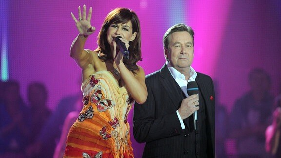 Andrea Berg und Roland Kaiser