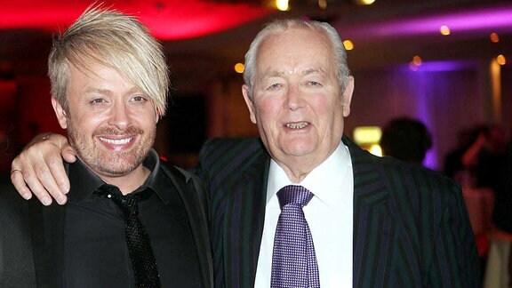 Ross Antony, mit seinem Vater