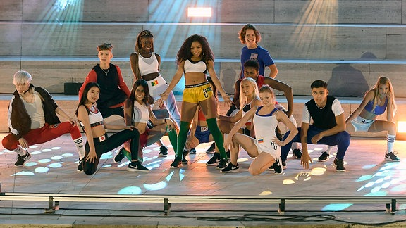 "Formation ""Now United"""