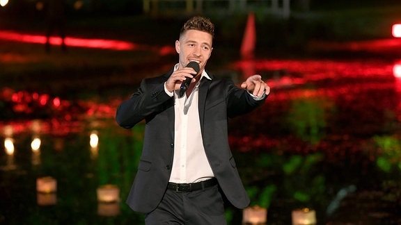 """Ramon Roselly bei """"Schlager des Sommers"""""""