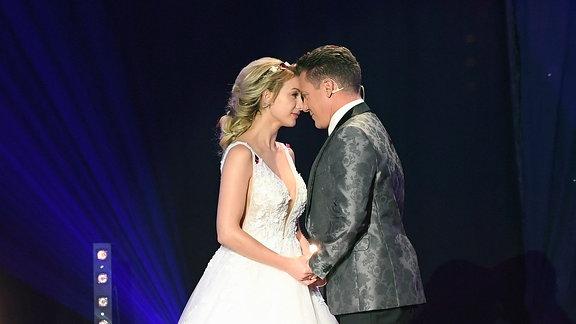 Stefan Mross & Anna-Carina Woitschack heiraten bei der Schlagerlovestory.2020