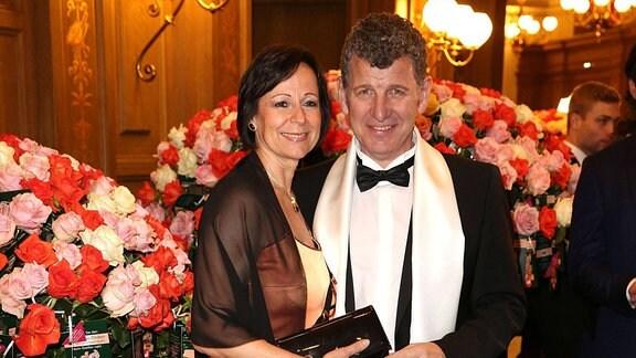 Semino Rossi und seine Ehefrau Gabriele