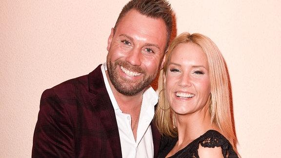 Sonia Liebing mit Ehemann Markus