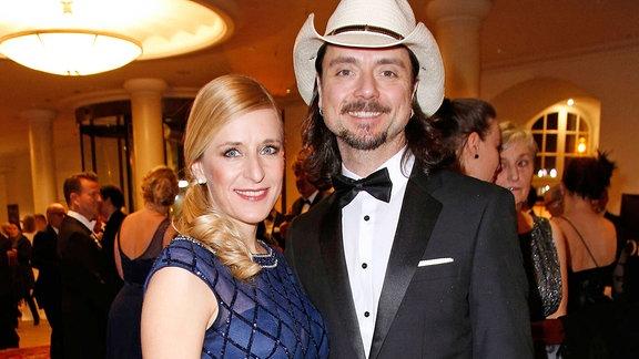Stefanie Hertel und Lanny Isis
