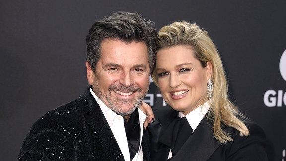 Thomas Anders mit Ehefrau Claudia Hess