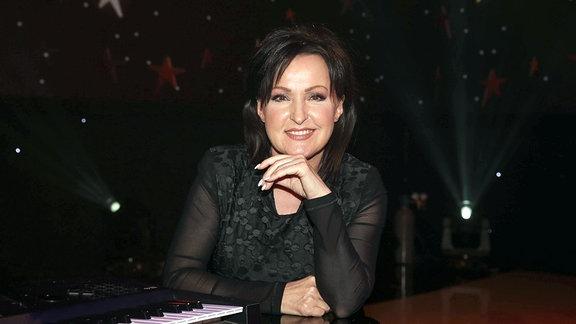 Sängerin Ute Freudenberg bei der Aufzeichnung der MDR Show ''Weihnachten bei uns'' aus der Stadthalle in Chemnitz am 14.12.2017.