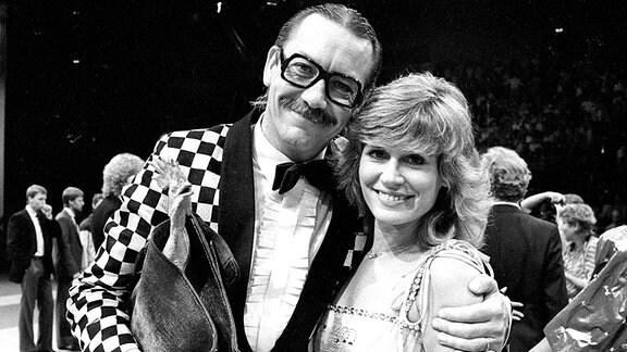 Werner Böhm und Mary Roos