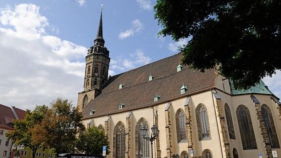 Außenansicht des Doms in Bautzen