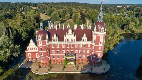 Neues Schloss im Fürst-Pückler-Park Bad Muskau