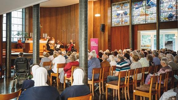 Konzert im Kirchsaal des Diakonissen-Mutterhauses Elbingerode