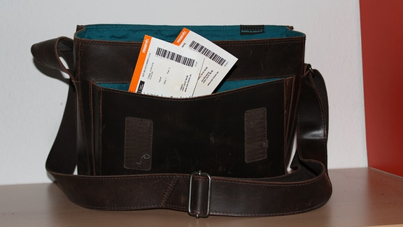 Tasche mit Tickets für den MDR-Musiksommer