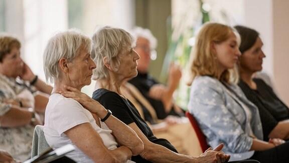 Blick ins Publikum beim Konzert der MDR-Musiksommer Sonderausgabe am 26. Juli 2020 im Kultur- und Kongresszentrum Gera.