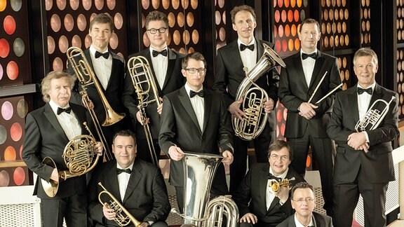 Das Blechbläserensemble German Brass