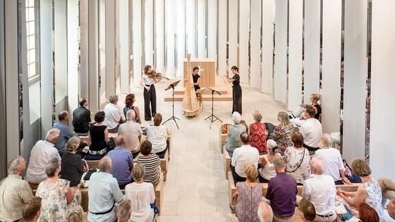 Konzert in der Pozellankapelle auf der Leuchtenburg Kahla