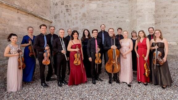 Gruppenbild der Kammersymphonie Leipzig