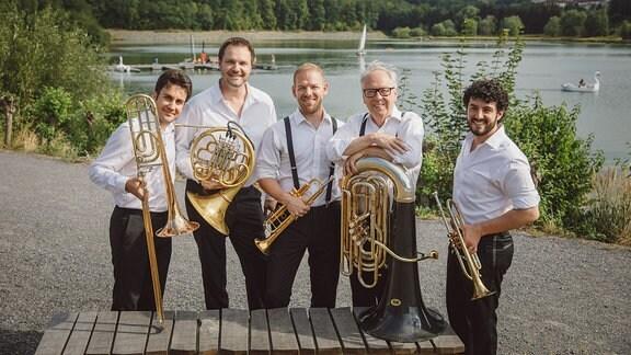 Canadian Brass beim MDR MUSIKSOMMER in Zeulenroda