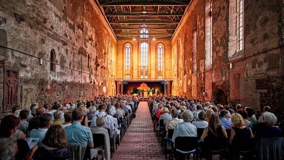 MDR-MUSIKSOMMER-Konzert mit dem Alliage Quintett und Sabine Meyer in Grimma