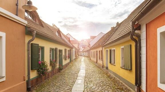 Die Lange Straße in Hoyerswerda