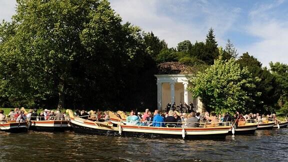Konzert des MDR MUSIKSOMMERS im Wörlitzer Park