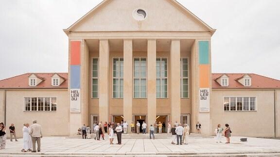 Das Festspielhaus in Hellerau