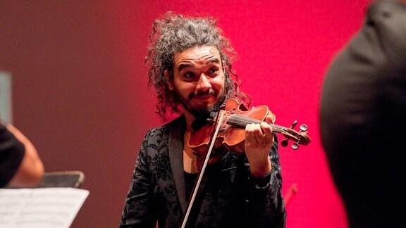 Violinist Nemanja Radulović