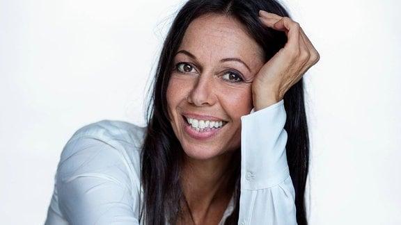 Porträt der Jazzsängerin Rigmor Gustafsson