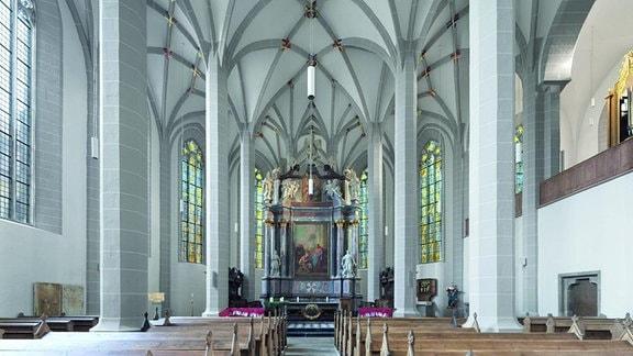 Innenansicht des Doms St. Petri Bautzen