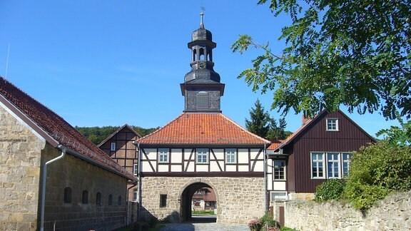 Torbogen im Kloster Michaelstein in Blankenburg