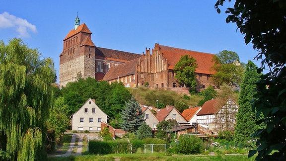 Außenansicht des Havelberger Doms St. Marien