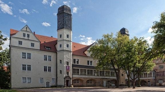 Außenansicht von Schloss Köthen