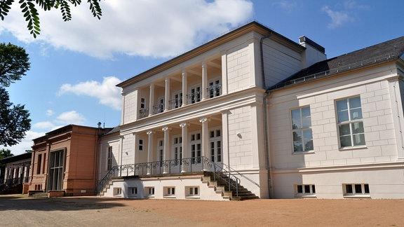 Außenansicht des Gesellschaftshaus in Magdeburg