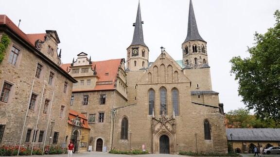 Außenansicht des Merseburger Doms