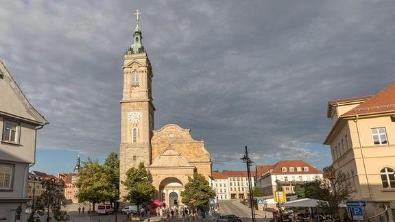 Außenansicht der Georgenkirche Eisenach