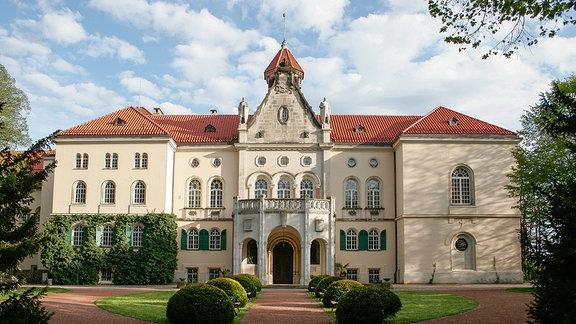 Außenansicht von Schloss Waldenburg