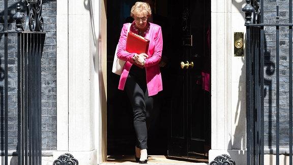 Andrea Leadsom Ministerin für Parlamentsfragen Großbritannien