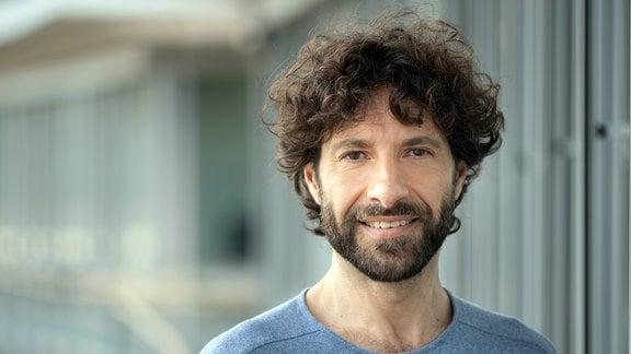 Renato Bodenburg, Nachrichtensprecher, Redakteur und Moderator im Wetterstudio