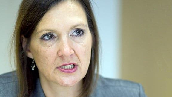 Angela Kolb-Janssen (SPD), ehemalige Justizministerin von Sachsen-Anhalt