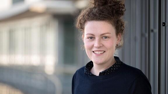 Anne-Marie Kriegel, Landeskorrespondentin Sachsen-Anhalt für das MDR AKTUELL Nachrichtenradio