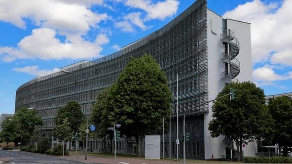 Verwaltungsgebäude der Bundesanstalt fuer Finanzdienstleistungsaufsicht (BaFin) in Frankfurt am Main