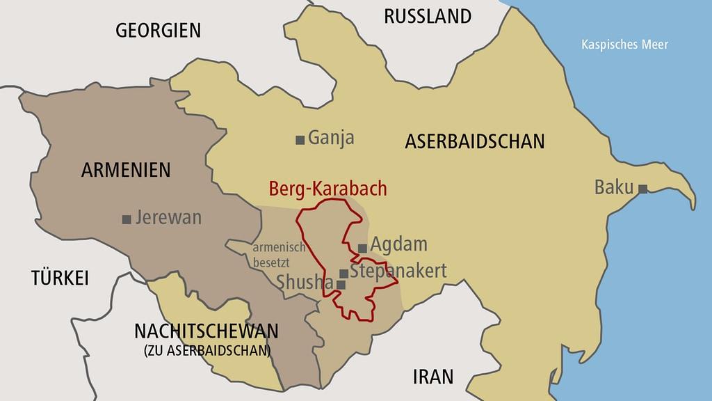Berg Karabach Armenien Und Aserbaidschan Einigen Sich Auf Waffenruhe Mdr De