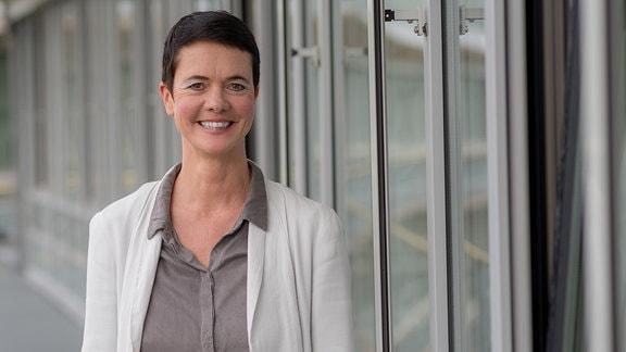 MDR AKTUELL - Nachrichtensprecherin Kerstin Hoffmann