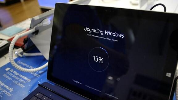 Einspielung eines Windows Update