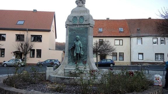 Lutherbrunnen in Mansfeld
