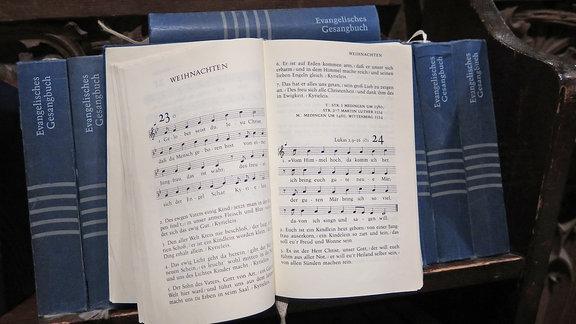 Weihnachtslieder Martin Luthers im Evangelischen Gesangbuch