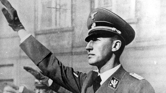 SS-Gruppenführer Reinhard Heydrich im Jahr 1940