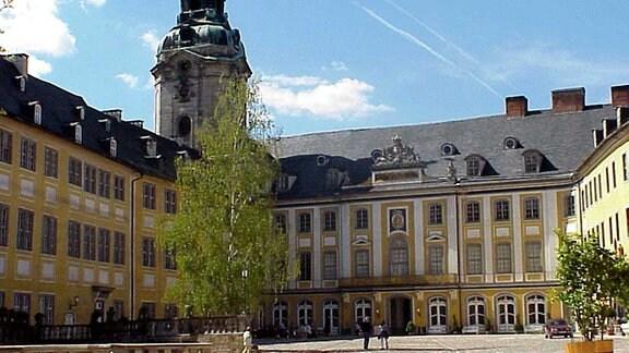 Rudolstadt, die Heideckburg.